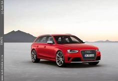 The Audi RS 4 Avant is the top athlete in its series. Every detail is a clear reflection of this claim. Source: Audi AG
