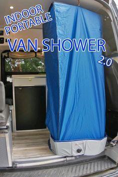 Camper Van Shower, Kangoo Camper, Motorhome, T6 California, Build A Camper Van, Cargo Trailer Camper, Kombi Home, Camper Van Conversion Diy, Sprinter Van