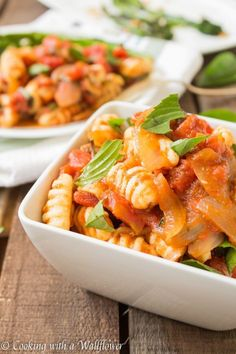 """""""Garlic? Check! Mushrooms? Puh-lease. Fresh basil? Of course. Sriracha? Um, did you really have to ask? Easy to find ingredients, one deliciously simple dish."""" 