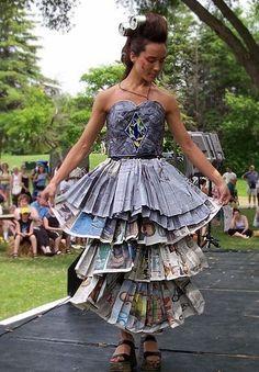 garbage dresses