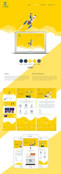 Infographics With Images Website Layout, Web Layout, Layout Design, Flat Web Design, Ui Ux Design, Design Agency, Website Design Inspiration, Graphic Design Inspiration, Homepage Design