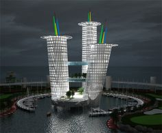 """Z10 TOWERS"" designer Dinesh Doshi, Persian Gulf"