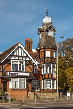 The Clock Tower in Farnborough, Hampshire was built in 1895 by Anguskirk on Flickr