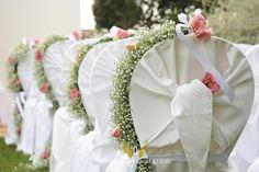 Ceremony chair decor  by Michela & Michela www.italianweddingcompany.com
