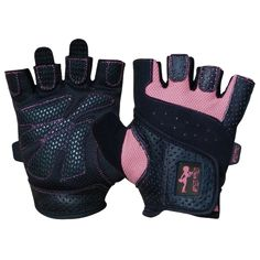 Popular workout gloves for women. Women weightlifting gloves that are designed specifically to fit women's hands.