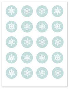 Snowflake printables