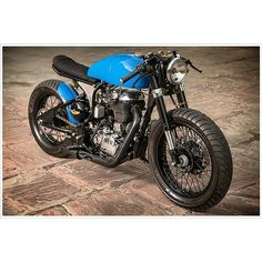 Rajputana Custom's Royal Enfield Cafe Racer, for Numero Uno Jeans