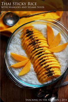 Thai Sticky Rice with Mangoes Recipe08