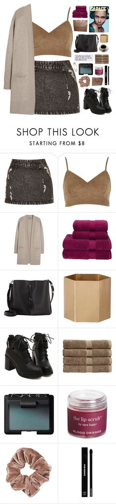 """""""I'm not the stars in the sky / 21.58"""" by shaniaayr ❤ liked on Polyvore featuring Topshop, N.Peal, Christy, Louis Vuitton, Maison Margiela, ferm LIVING, NARS Cosmetics, Sara Happ, Edward Bess and CB2"""