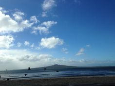 Rangitoto Island - view from Mission Bay