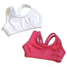 Sports Bra Doll Set, Fits 18 Inch American Girl