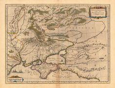 1643 The Ukraine, Guijelmus & Joan Blaeu