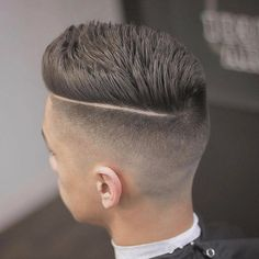 27 High Fade Pompadour Hairstyle Worth Watching in 2018 Fade hairstyle with pompadour style - Colorful Toupee Hairs Teen Boy Hairstyles, Haircuts For Men, Cool Hairstyles, Modern Haircuts, Medium Hairstyles, Formal Hairstyles, Wedding Hairstyles, Pinterest Hairstyles, Haircut Medium