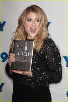 Meghan Trainor's Upcoming Single Was Written Last Minute: Photo #923851. Meghan Trainor attends a conversation with Epic Records head L.A. Reid about his new memoir on Tuesday (February 2) at 92Y in New York City.     The 22-year-old…