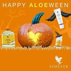 Look and feel good this Halloween !!! #forever #living #aloe
