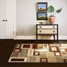 Orian Franklin Areas Woven Olefin Area Rug, 5' x 7'