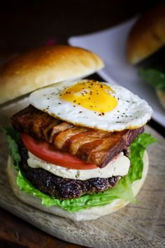 """The Barnyard"" Burger (Burger Month 2016) - From Away"