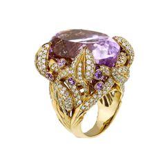 Precious Pink Luxurious Ring