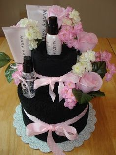 Let me show and package a Gift for your Sweetheart... contact me. Mary Kay Gift Baskets Ideas