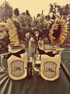 Country wedding favors. Simple but perfect.
