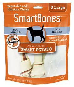 SmartBones Sweet Potato Dog Chew ^^ Quickly view this special dog product, click the image : Dog Treats