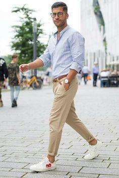 men, Mens outfits, Summer business attire