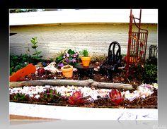 Fairy Garden by lcaserelaxing, via Flickr