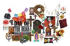 """""""Day of the Dead"""" by alexosterberg ❤ liked on Polyvore featuring interior, interiors, interior design, home, home decor, interior decorating, NOVICA, Sia, The Magnolia Company and Doormat Designs"""