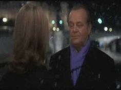 """While in Paris it starts to snow.  Harry turns around, sees Erica, and says to her, """"I'm 63 years old & I'm in love...for the first time in my life...that's what I came here to say...""""  <3"""