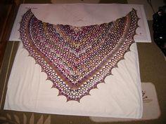 Ravelry: mamaelyan's Casablanca market shawl