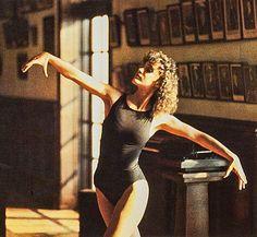 """Jennifer Beals en """"Flashdance"""", 1983"""