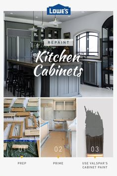 Let our experts help you pick the right Valspar colors to refresh any kitchen on a budget <-> designs on a budget kitchen updates How to Paint Kitchen Cabinets Repainting Kitchen Cabinets, Kitchen Paint, Home Decor Kitchen, Home Kitchens, Laminate Cabinets, Home Renovation, Home Remodeling, Cheap Home Decor, Diy Home Decor