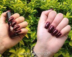 esmalte SinfulColors Deepest Ruby 336 www.blogcasademaria.com.br