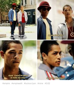 """Empire (Fox Network-Season 3) Jeremy Carver plays the role of a young teenage Lucious Lyon in flashbacks. Carver as a teenager with an incredible voice """"and a bad-boy edge that captures the heart"""" of young Cookie."""