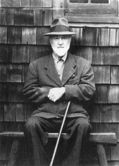 American composer Charles Ives (1874-1954).