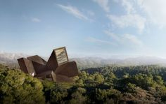 """Spain's """"Exploding"""" House Inspired by the Big Bang - My Modern Metropolis"""
