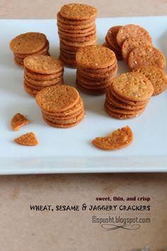 Dry Snacks, Yummy Snacks, Wheat Crackers, Vegetarian Recipes, Cooking Recipes, Tea Time Snacks, No Bake Treats, Dairy Free, Baking