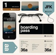 re-branding project of American Airlines from graphic designer Anna Kovecses.