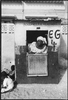 'Boulangerie - Saint-Louis, Sénégal' 1990, DR