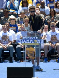 Warriors Celebrate and Celebrated at Championship Parade | Golden State Warriors
