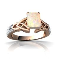 don't like the design of the ring, but I do like my birthstone with rose gold (opal)