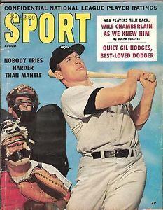 Sport Magazine 1960 | Sport-Magazine-Mickey-Mantle-August-1960-Rare
