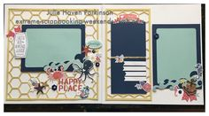 CTMH Artbooking Cricut Collection makes designing great layouts easy!