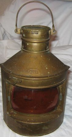 Decorative Ship's Lantern by larsoncollection on Etsy, $21.00