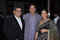 With shatrughan sinha and Vidya Balan