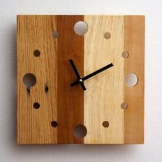 diy wood clock (12) Wall Clock Design 4ea2fb5590