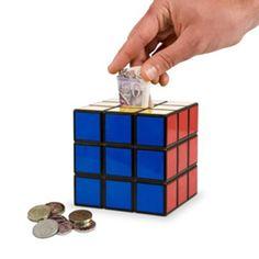 Tirelire Rubik's cube - Absolument Design