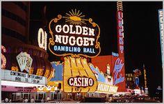 Vintage Las Vegas - Downtown Fremont Street - Golden Nugget