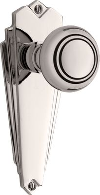 It's all in the detail! Finish off your look with these art deco doorknobs