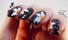 Mikrosvet by Ellen: NAIL ART: White flower with Beyond White Flowers, Nail Art, Nails, Painting, Finger Nails, Ongles, Painting Art, Nail, Paintings